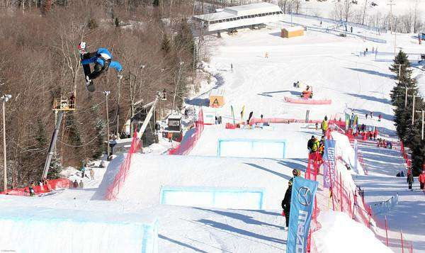 Qualificazioni Slopestyle Snowboard_World_Championships Stoneham - Nate Kern GBR (foto FIS/Oliver Kraus)