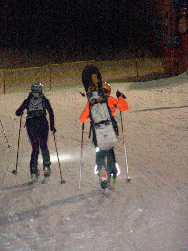 Sci e snowboard-alpinismo all'Abetone Night Race