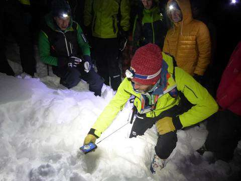 Apertura Ortovox Safety Nights in Val Bognanco