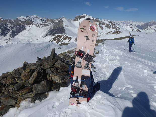 Apertura Test Burton Splitboard Family Tree Anti Social 147 (9)