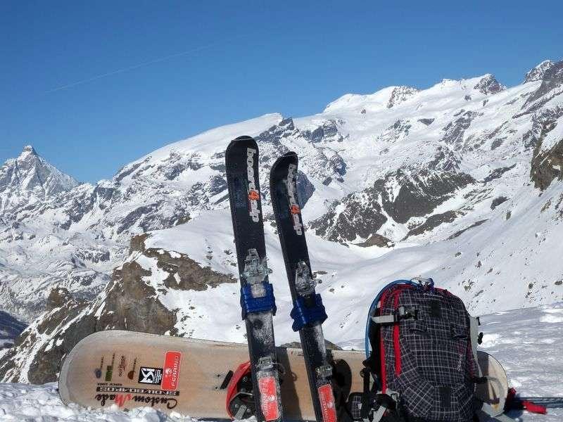 Pantaloni sci alpinismo salewa