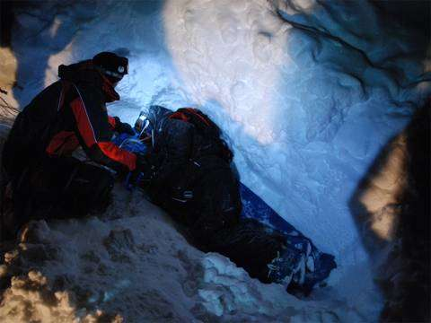 Cervinia test medico scientifici con Air Safe