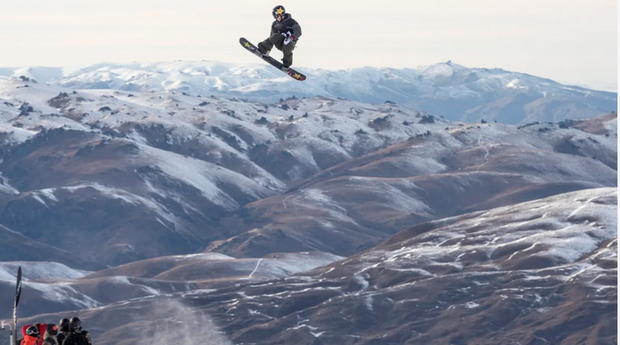 Chris Corning vincitore Big Air Cardrona (foto fisski)