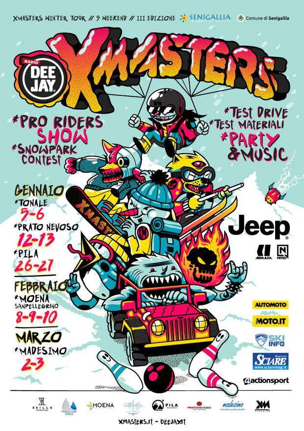 DEEJAY Xmasters Winter Tour 2019