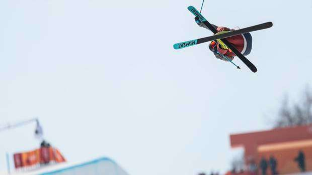 David Wise oro olimpico in Half Pipe Freeski (foto fis freestyleski)