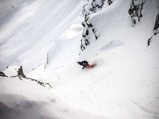 Freeride World Tour a Verbier (foto freerideworldtour.com)