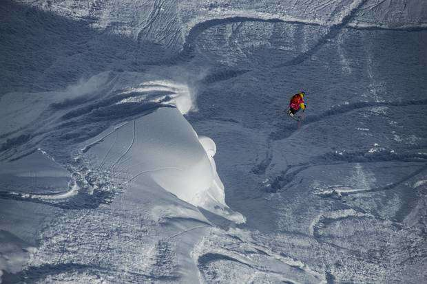 Freeride World Tour Alaska Sam Lee (foto FWT)