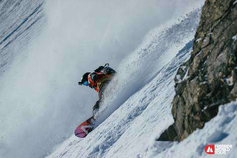 Freeride World Tour Verbier (foto Jeremy Bernard)