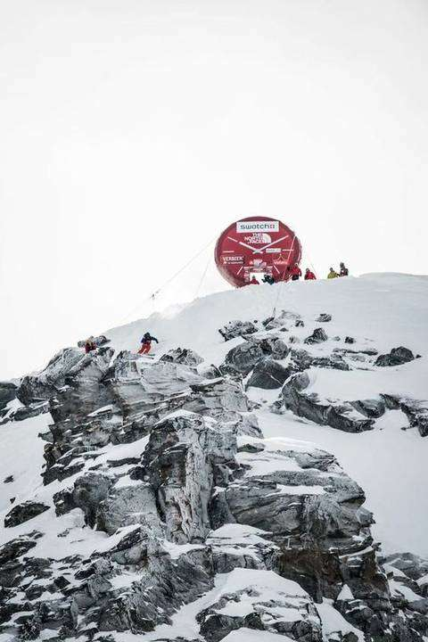 Freeride World Tour a Verbier