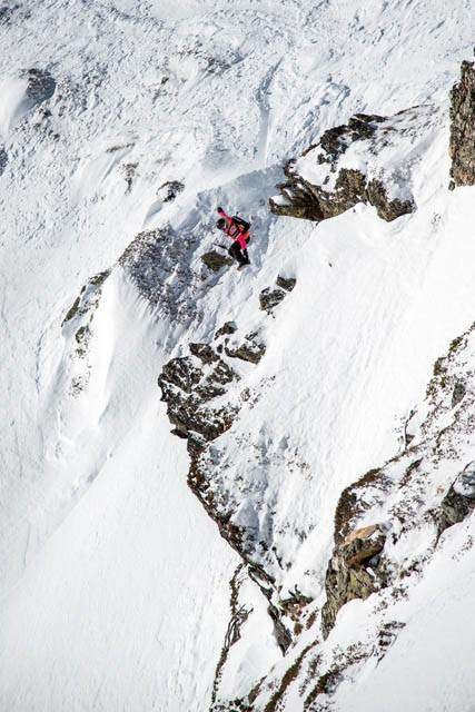 Freeride World tour Vallnord Arcalis Andorra (foto carlier)