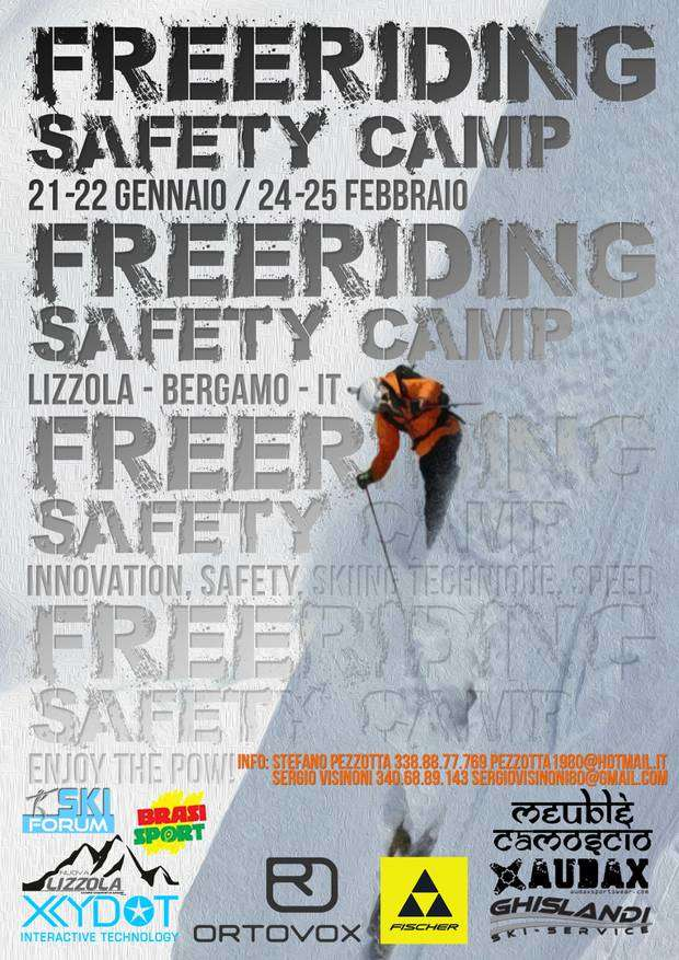 Freeriding Safety Camp Lizzola