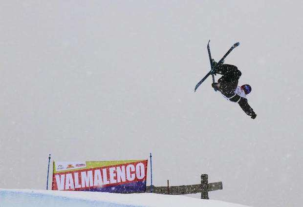 Half Pipe ski in Valmalenco