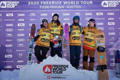 I vincitori del Freeride World Tour 2020 (foto fwt)