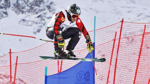 Il canadese Kevin Drury vincitore in Val Thorens (foto olympicca)