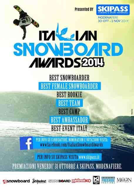 Italian Snowboard Awards 2014