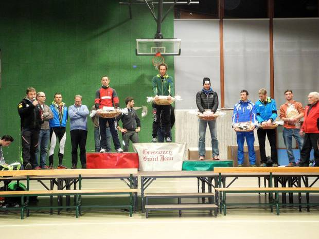 La premiazione del Memorial Follis a Gressoney Saint Jean