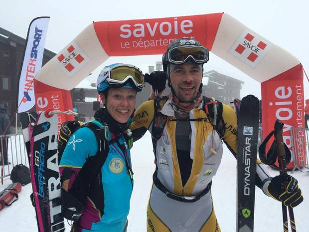 Laetitia Roux e William Bon Mardion foto fb Trail Endurance Mag
