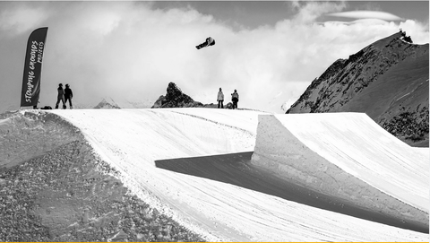 L'americano Chris Corning in Slopestyle (foto Fis)