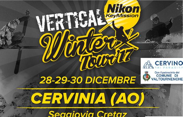 Locandina Vertical Winter Tour Cervinia