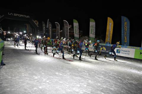Partenza Epic Ski Tour (foto Newspower)