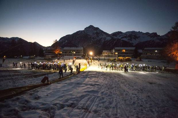 Partenza Night & Winter Vertical Kilometer 2013