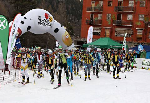 Partenza Senior Marmotta Trophy (foto newspower)