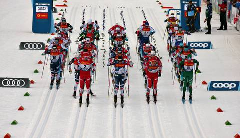 Partenza Tour de Ski (foto newspower)