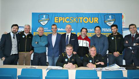 Presentazione Epic Ski Tour (foto newspower)