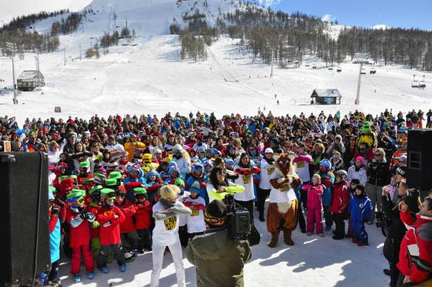 SESTRIERE FLASH MOB
