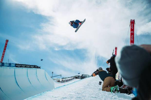 Scotty James Campione del mondo di Half Pipe (foto fis)