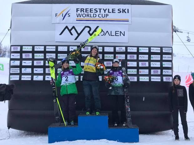 Silvia Bertagna seconda nei due Big Air norvegesi di Coppa del Mondo (foto fb bertagna)