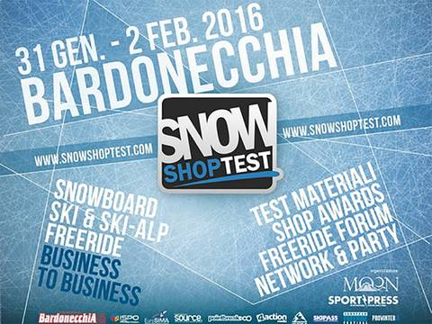 Snow Shop Test a Bardonecchia