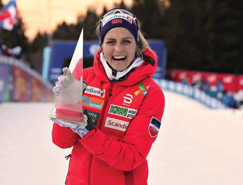 Therese Johaug (foto Newspower)
