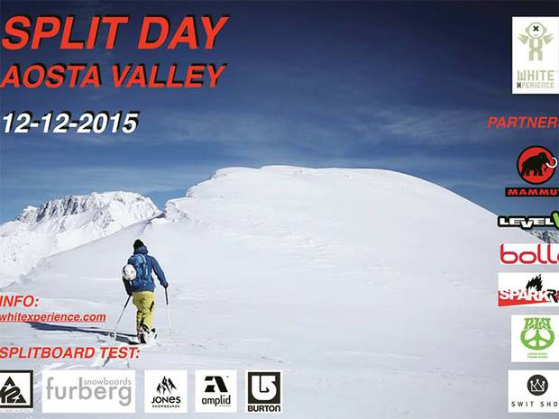 Volantino Split Day Valle dAosta 2015