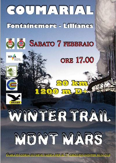 Volantino Winter Trail Mont Mars