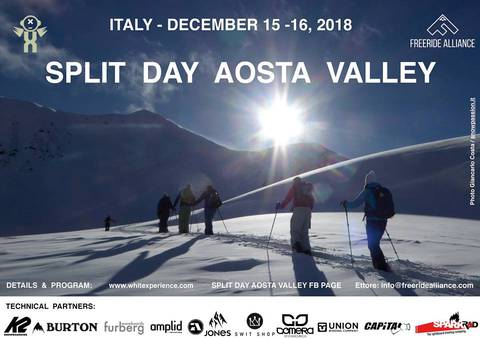 Volantino Split Day Aosta Valley