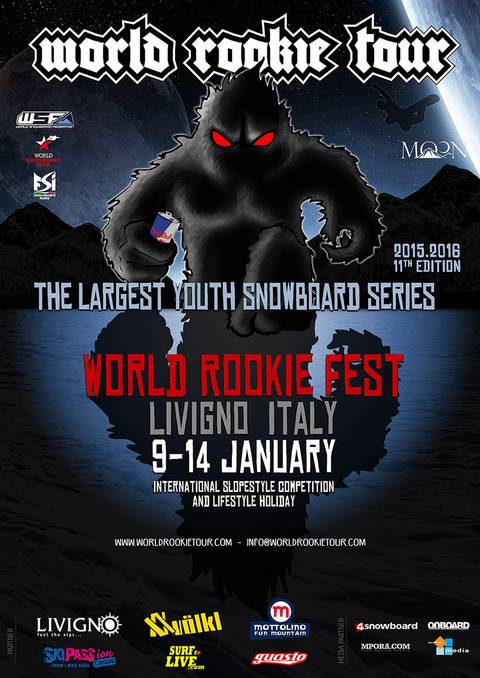 World rookie Fest Livigno