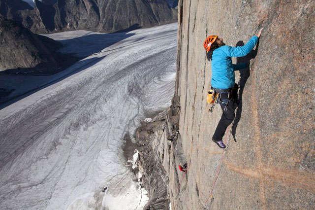 I fratelli Huber sul Monte Asgard nelle Isole Baffin - Album fotografico