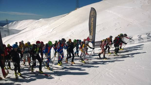 Partenza Coppa Millet al Terminillo (foto Live Your Mountain)
